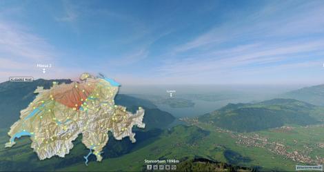 MySwitzerland 360 Panorama - Start
