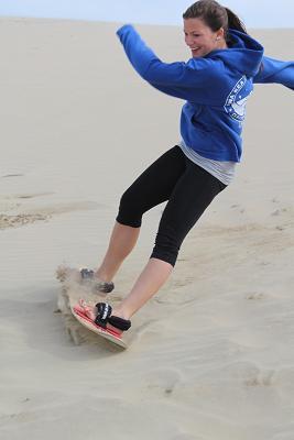 Sandboarding in Oregon - Copy