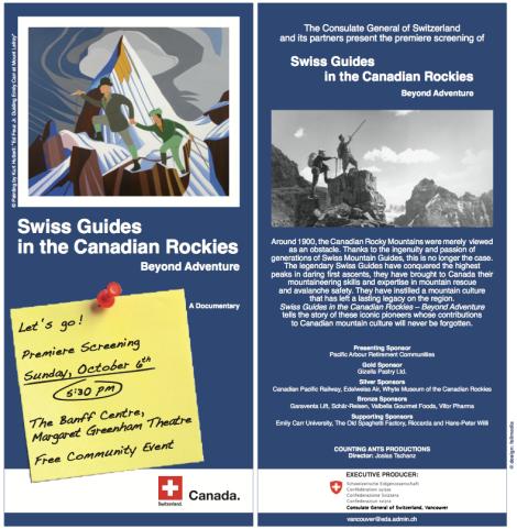 Banff Premiere Flyer