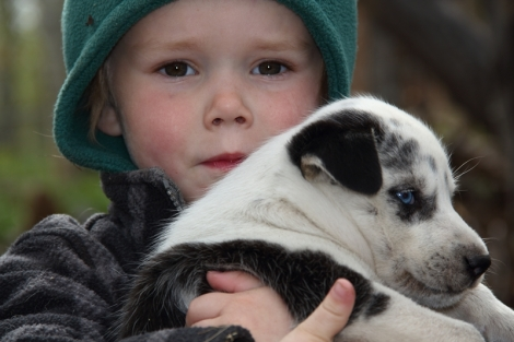 Yoann and Puppy